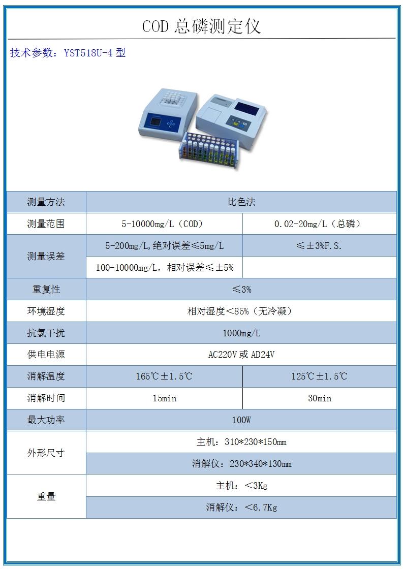 COD總磷測定儀